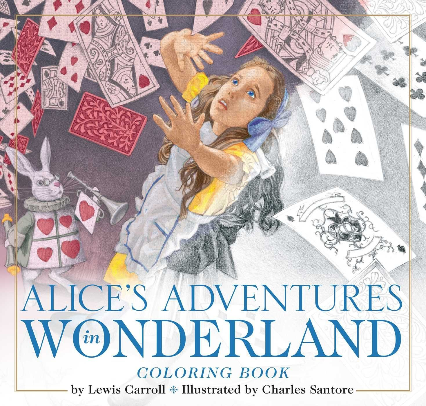 The Alice In Wonderland Coloring Book The Classic Edition By Lewis