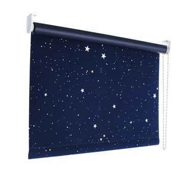 GAMMA rolgordijn verduisterend 1900 x 2100mm sterren 1449 ...