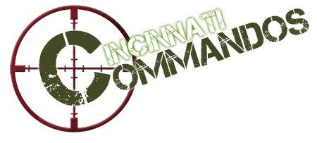 Cincinnati Commandos Logo Cincinnati Commando Football Logo