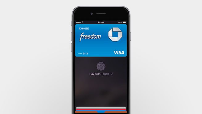 Pay with the simple touch of your finger using Touch ID