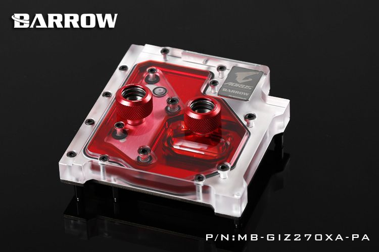 Barrow Rgb Mb Giz270xa Pa Motherboard Water Cooling Block For Giga