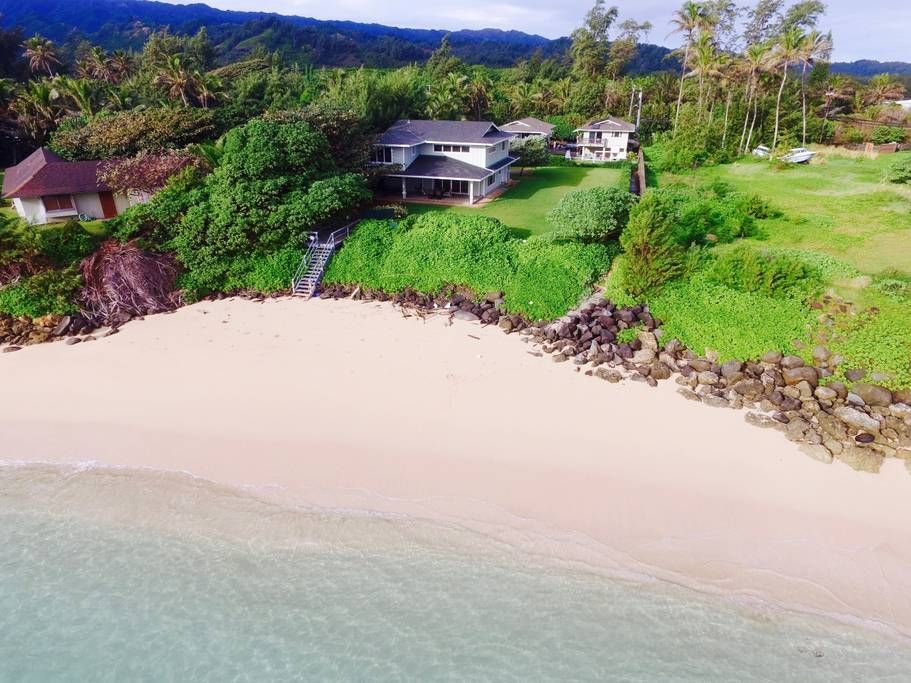 In Laie Us Open E Secluded Secret Beach This Ious 4 Bedroom And Bath House Has All You Need For Your Family Or Group