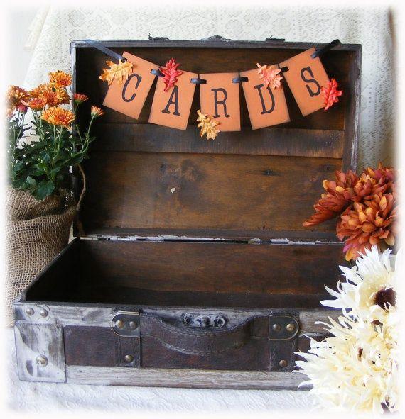 Fall Wedding Card Box Ideas: 4 Fall Wedding Shower Ideas To Inspire You