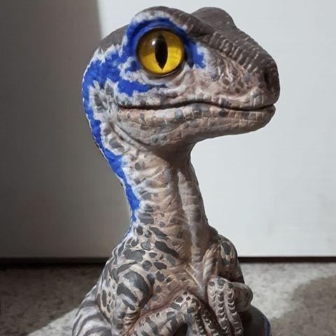 image result for baby blue raptor jurassic world pinterest