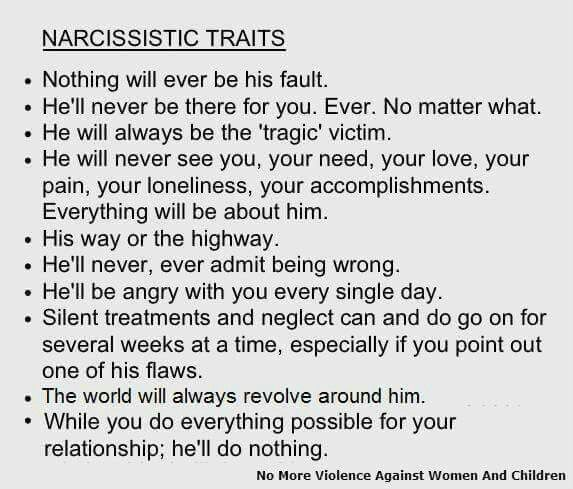 Dealing With Narcissistic Men in Relationships