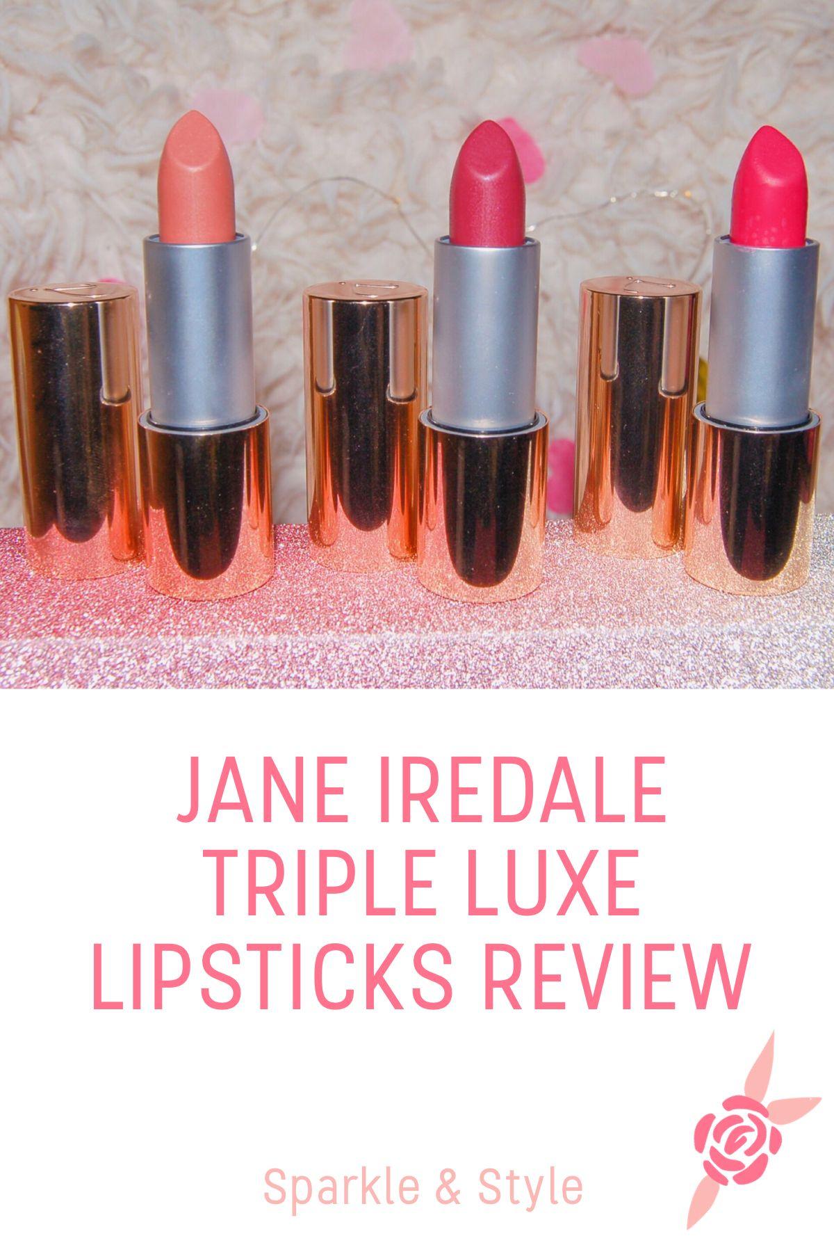 Jane Iredale Triple Luxe Lipsticks Review Lipstick, Blog