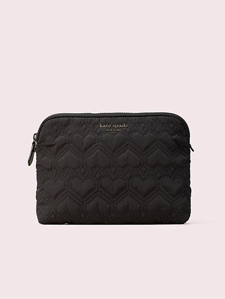 reputable site 5de94 ce155 Kate Spade Jayne Large Cosmetic Bag, Black in 2019 | Products ...