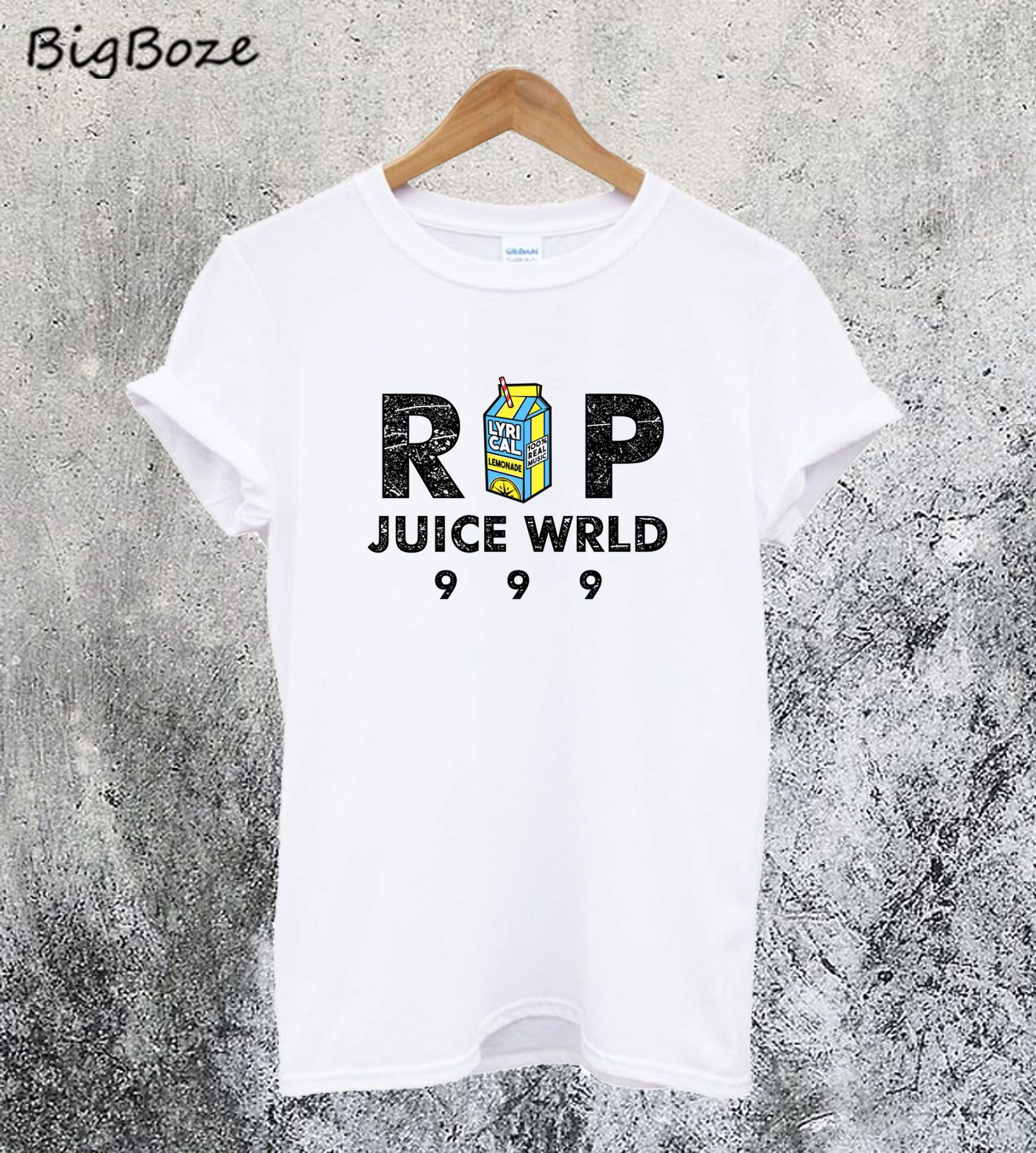 RIP JUICE WRLD 999 TShirt (With images) Print clothes