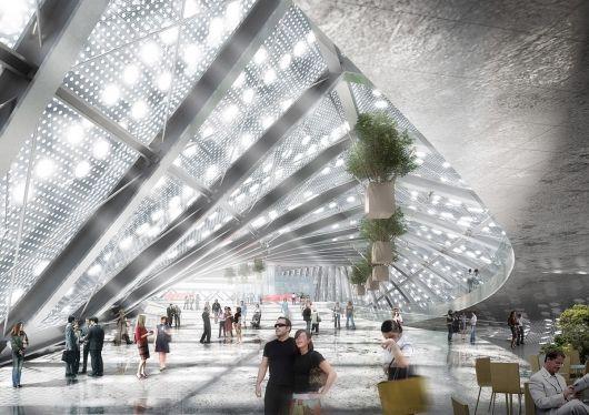 Heung Yuen Wai Boundary Control Point Passenger Terminal Proposal / WAU Design