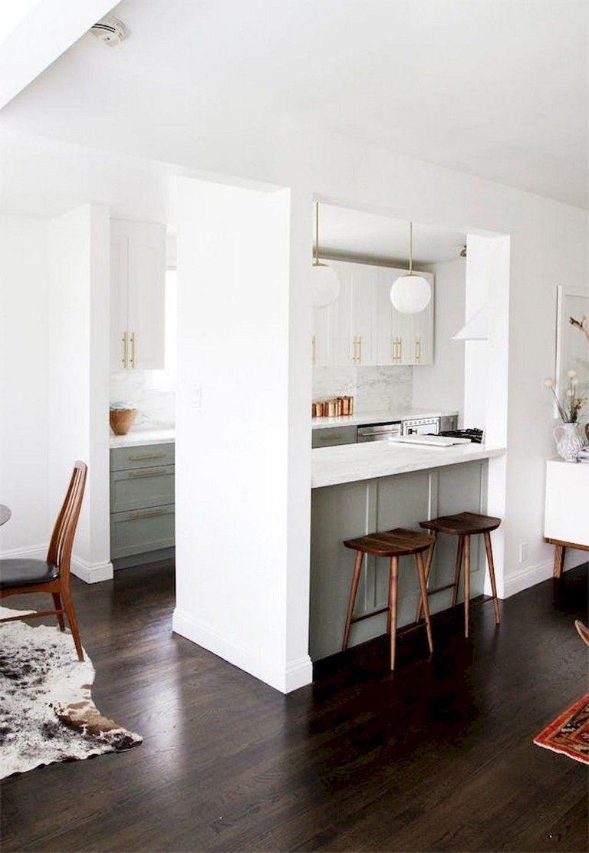 bright small apartment kitchen decor ideas kitchen pinterest