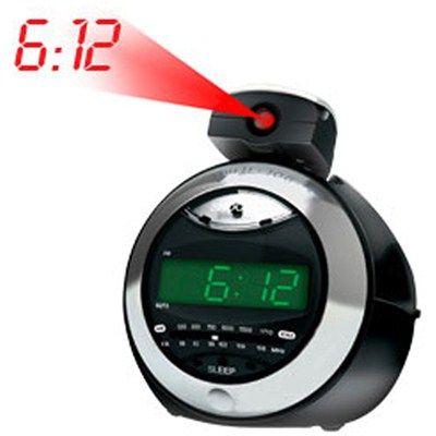 Rádio relógio AM/FM, digital com projetor de horas, CRA79, Bivolt. Coby. R$69.90