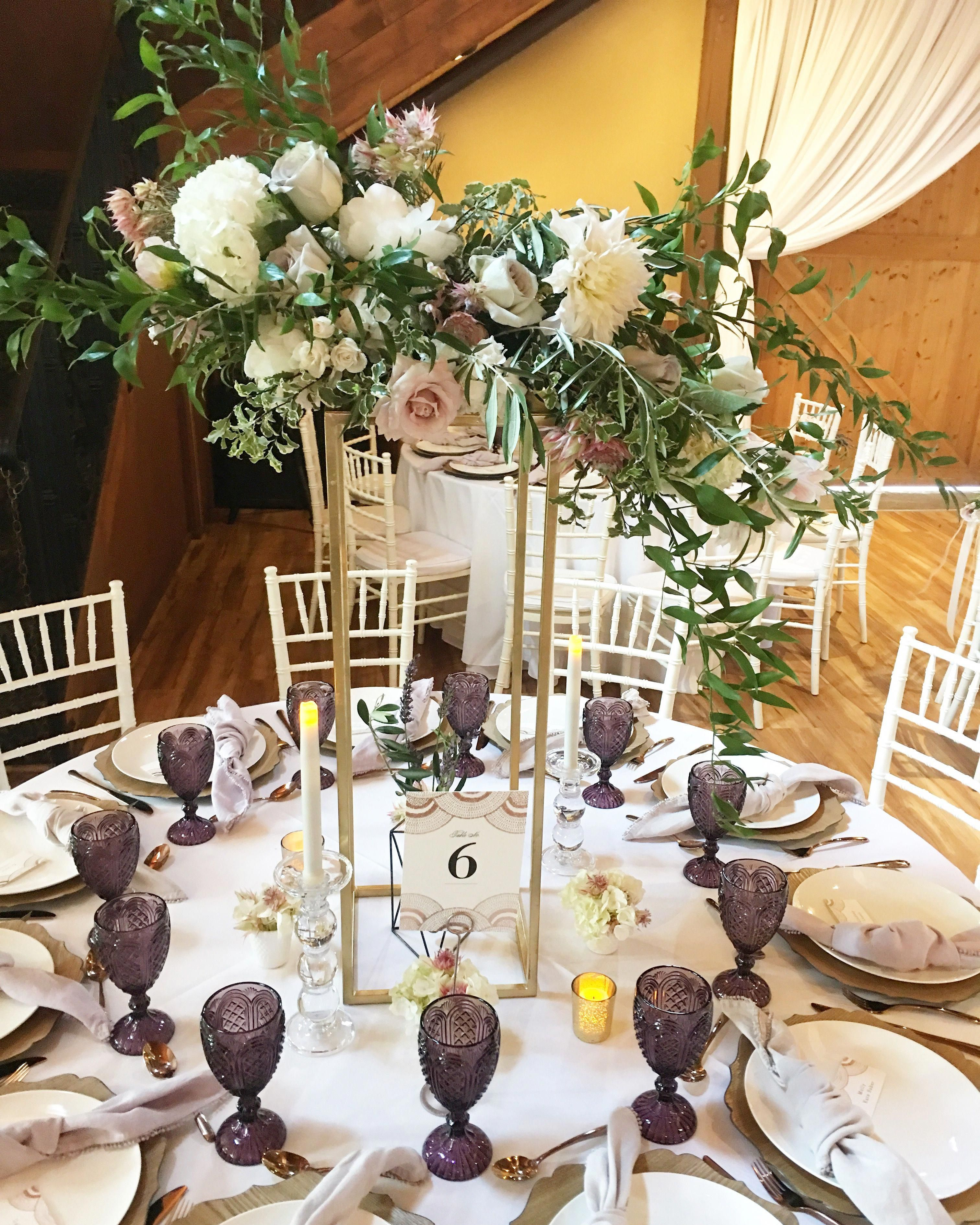 Enticing tables offers imperial for wedding and party