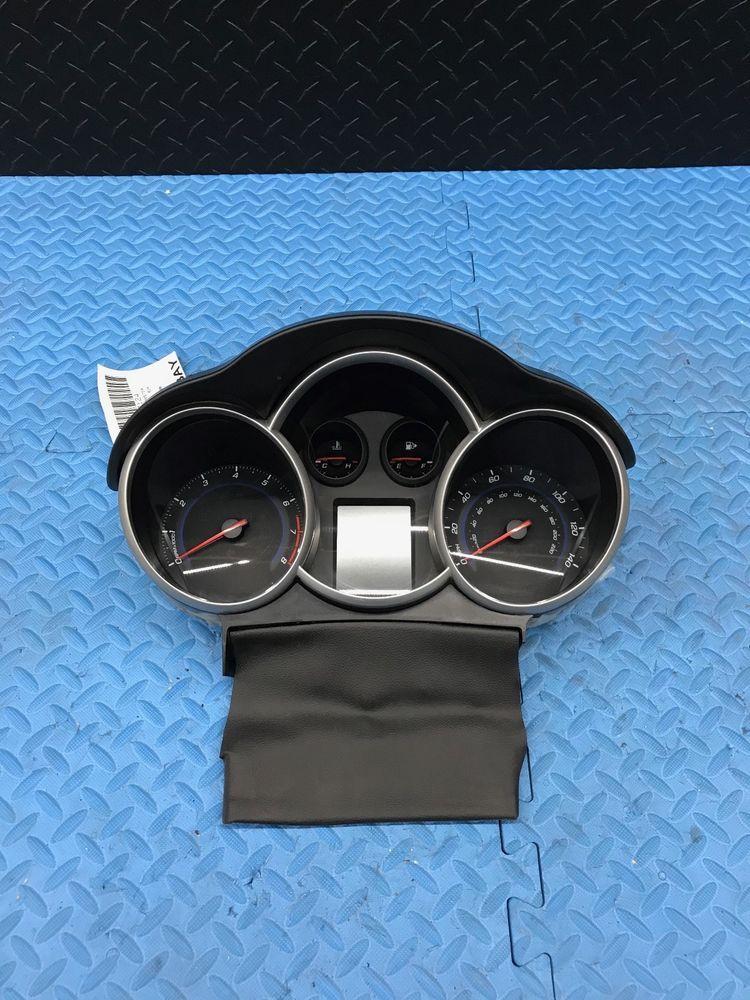 Gm Chevrolet Cruze Part Dash Dashboard Speedometer Instrument Cluster 95129378 Gm Chevrolet Cruze Cruze