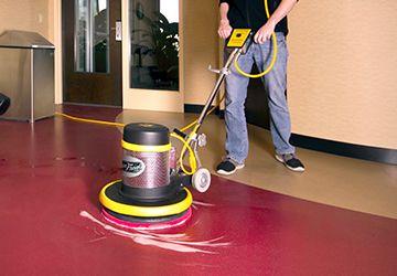 Spray Buffing A Floor Flooring Grey Vinyl Flooring Vinyl Flooring Kitchen