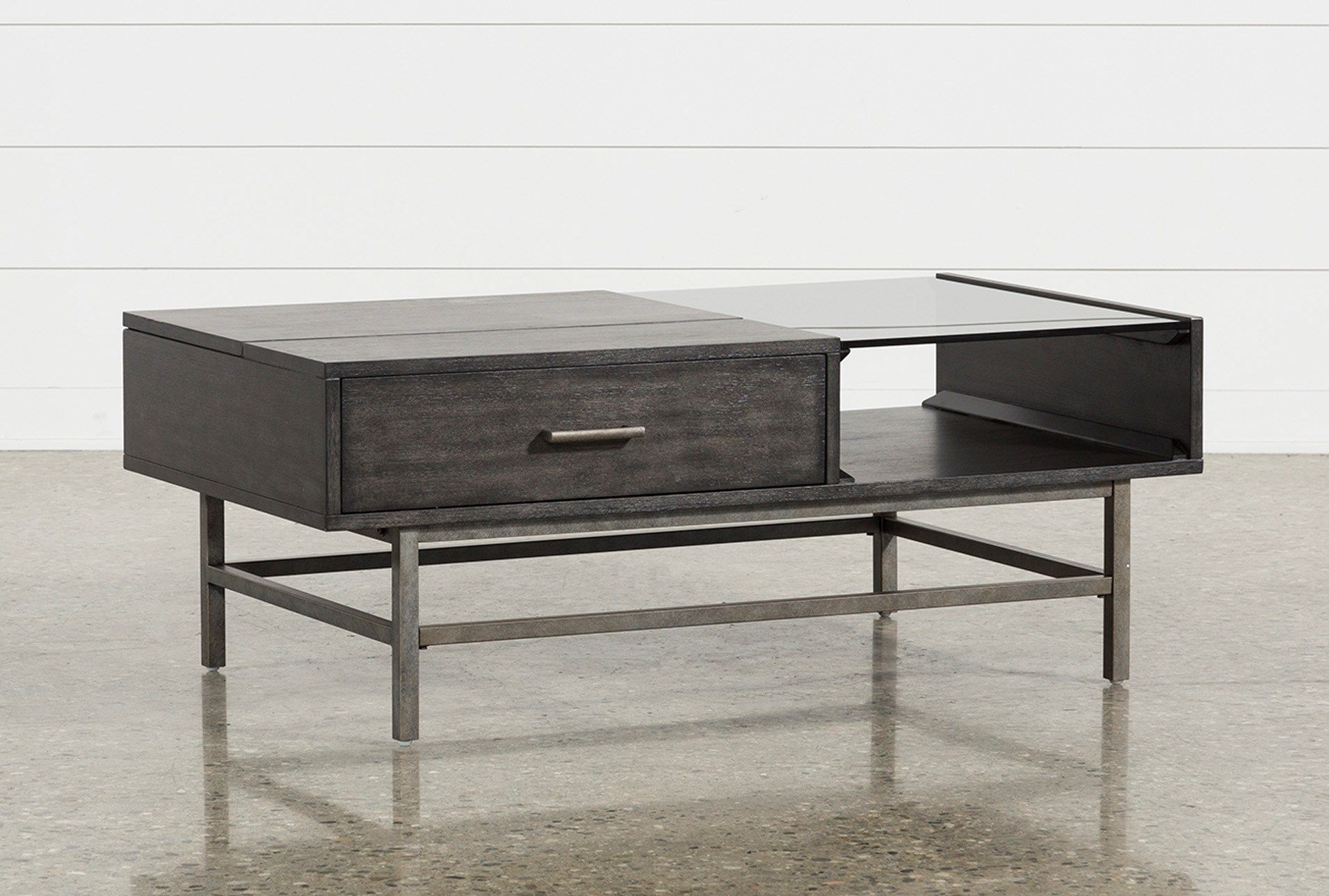 Tracie Lift Top Coffee Table Lift Top Coffee Table Coffee Table Living Spaces Coffee Table