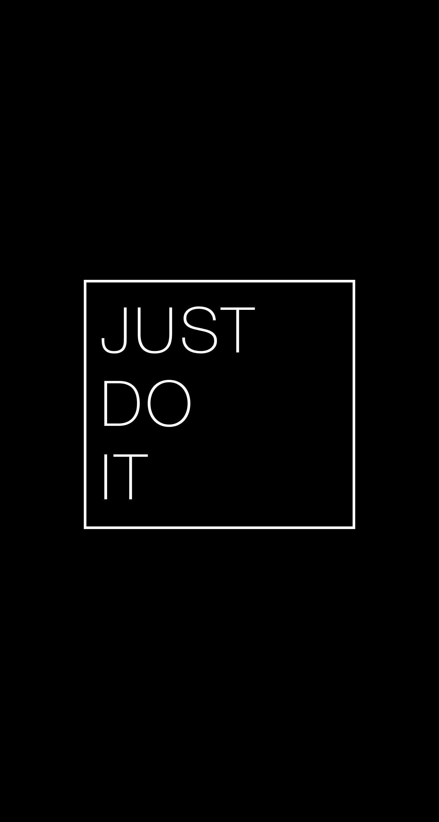 Just Do It Wallpaper for iPhone