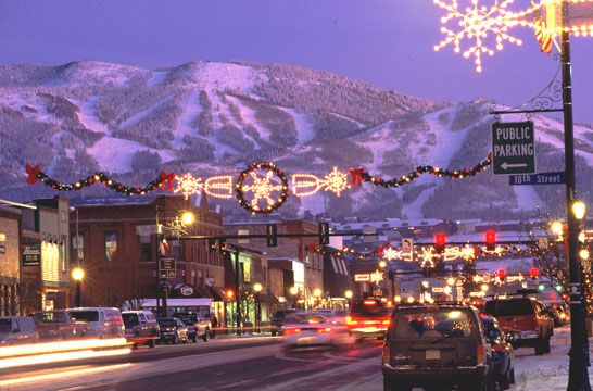 Steamboat Springs Co During The Holidays Wintervacation