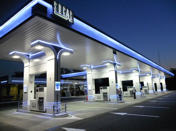 Pin By Lourika Schroder On Project Ideas Gas Station Filling Station Petrol Station