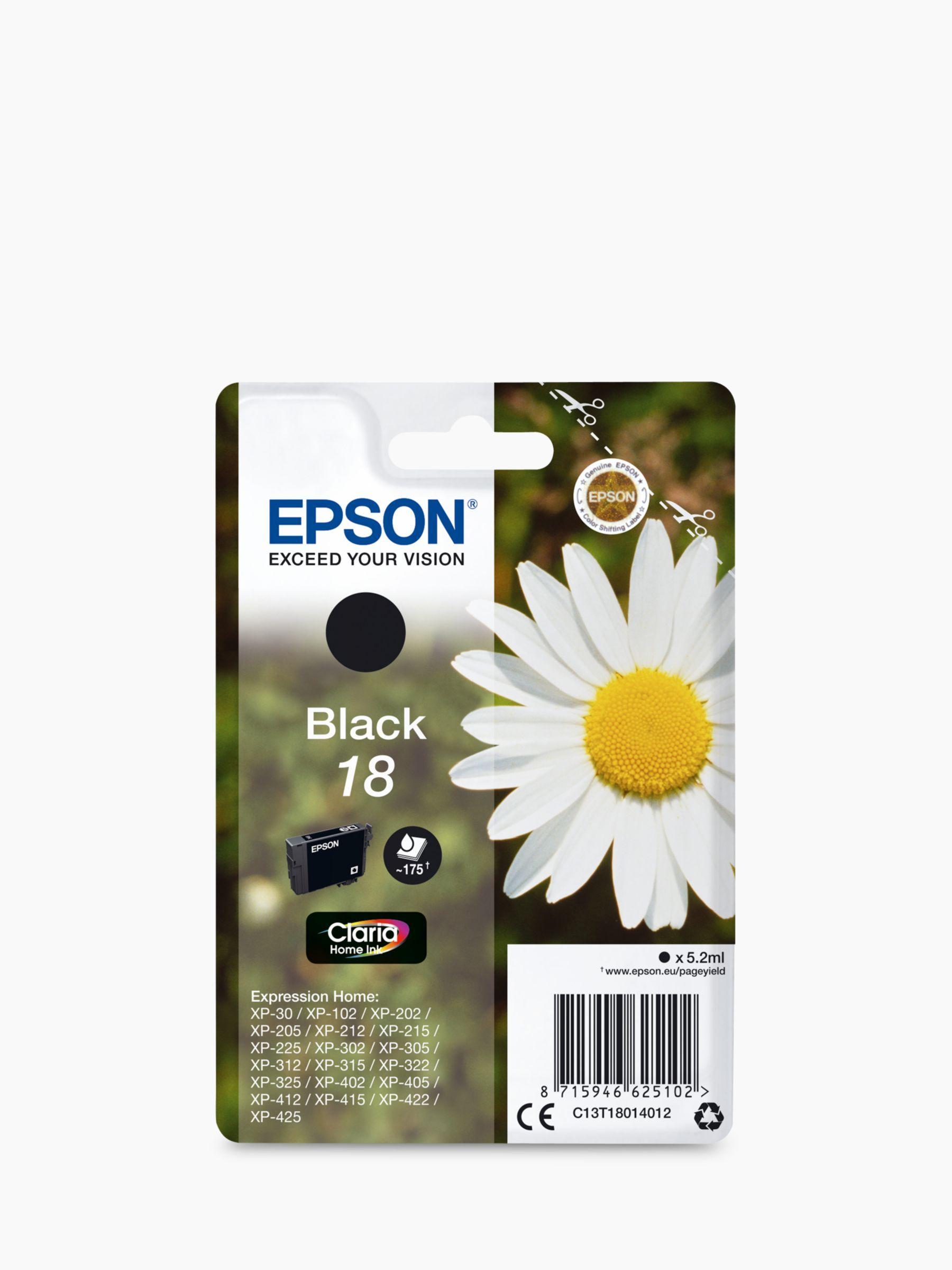 Epson Daisy T1801 Inkjet Printer Cartridge Black Printer