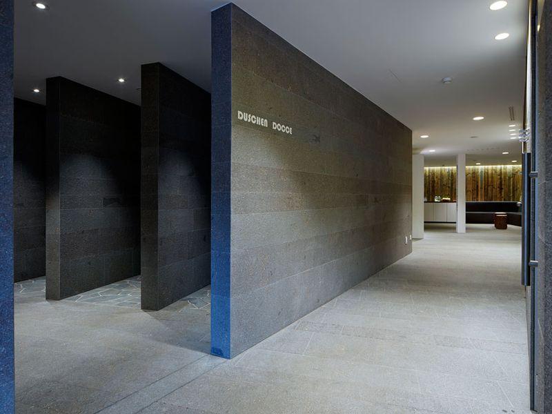 Sarner Porphyr Hotel Weisses Kreuz und Ansitz Löwenwirt in - badezimmer jakob