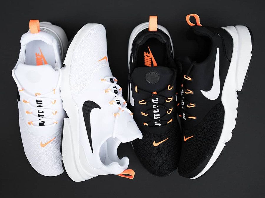 Que valent les Nike Air Presto Fly JDI Just Do It White & Black Orange ?