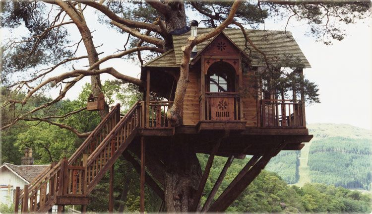 Grown Up Tree House 5 Star Hotel Exclusive Use Wedding Venue Scotland Luxury Accommodation