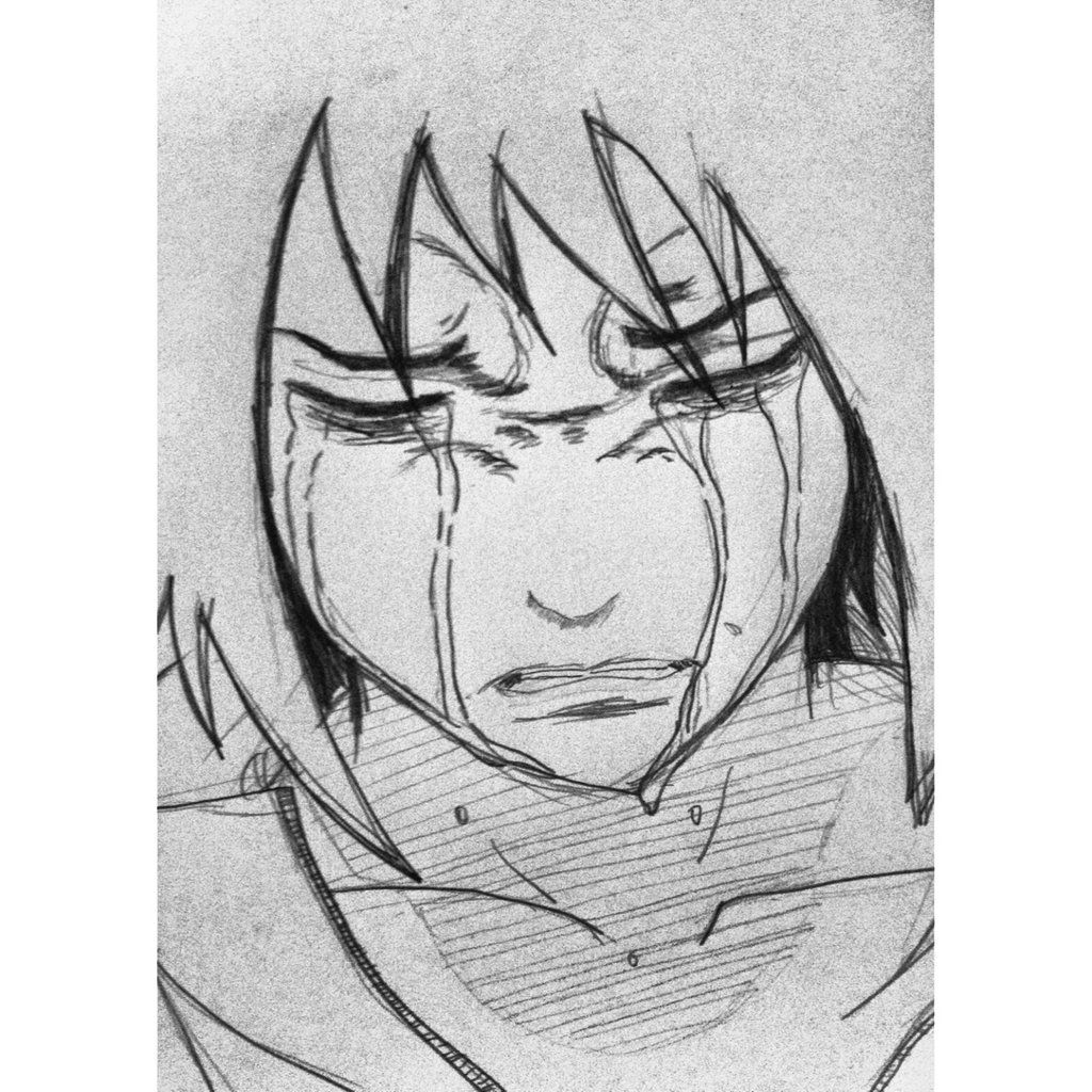 Crying Anime Gril Drawing  Displaying 18> Images For  Anime Crying Drawing