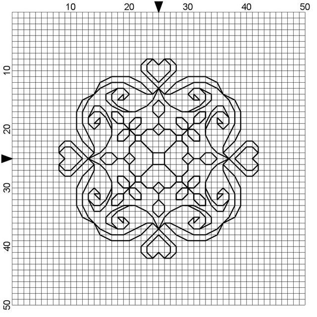 Free Blackwork and Cross Stitch Patterns | cross stich | Pinterest ...