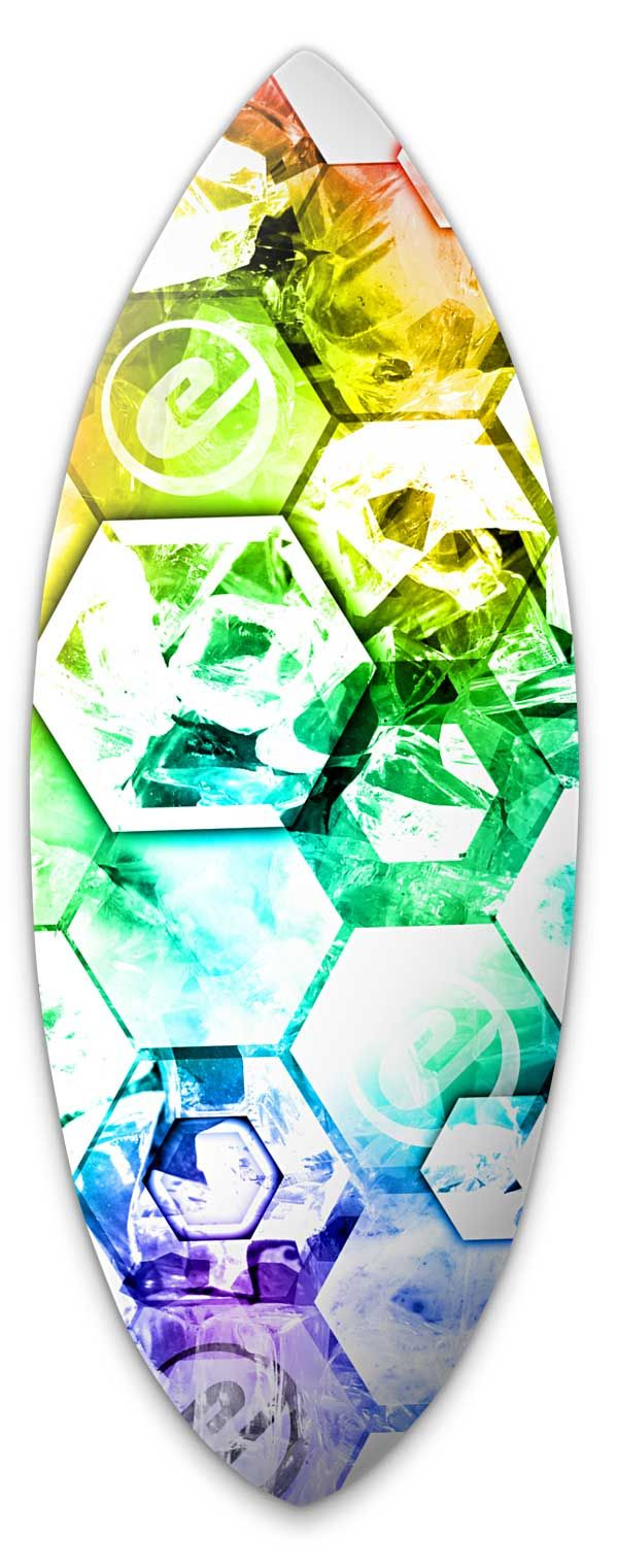 Exile Skimboard Graphics. Richard de Ruijter design.