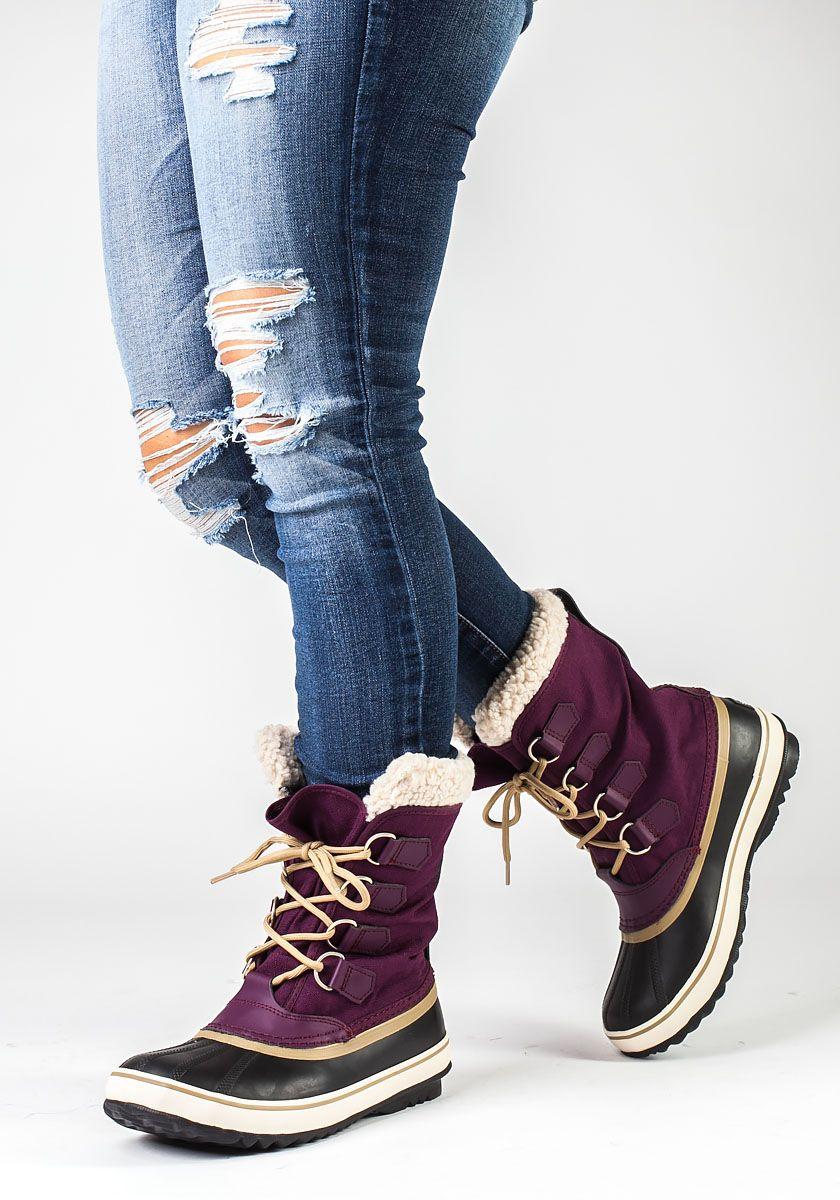Sorel Winter Carnival Purple Snow Boot - Jildor Shoes