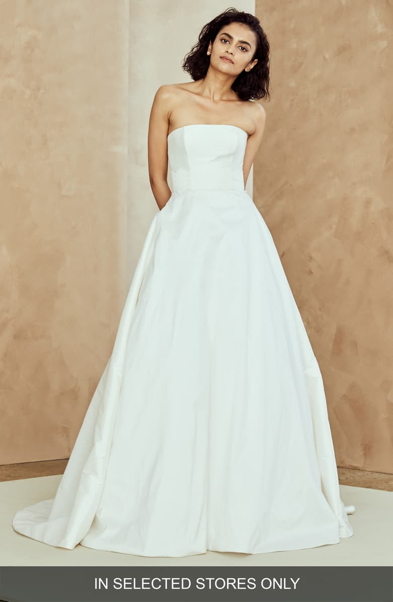 nouvelle AMSALE Ana Strapless Ballgown Nordstrom Cheap