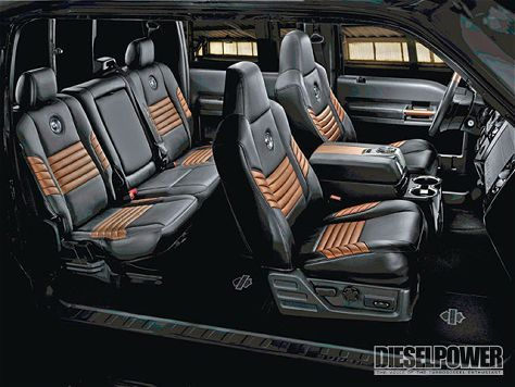 F250 HD interior, they law | Harleys and Fords | Harley ...