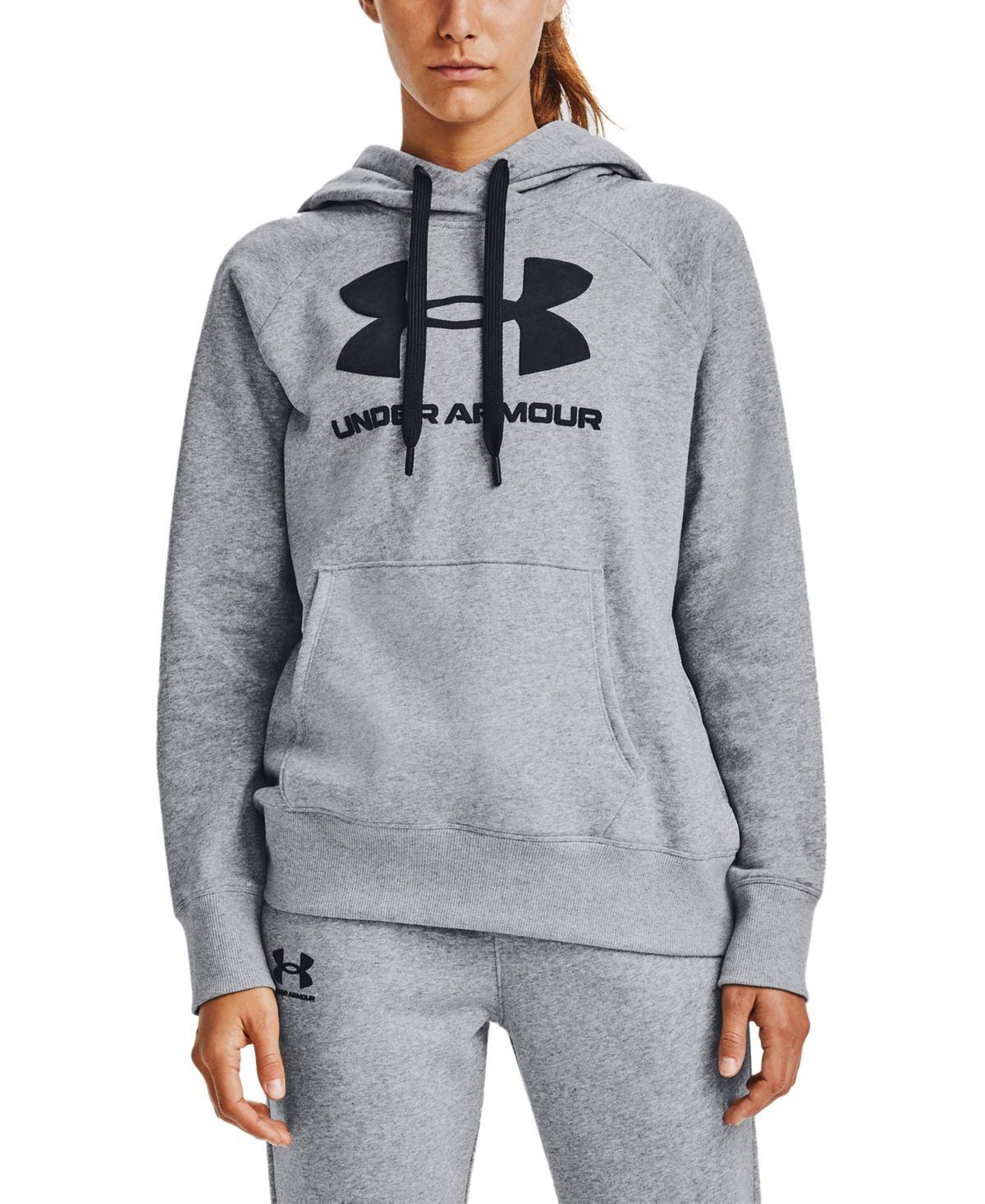 Under Armour Women S Rival Fleece Logo Hoodie Reviews Tops Women Macy S In 2021 Under Armour Outfits Under Armour Women Under Armour Sweatshirts [ 1467 x 1200 Pixel ]