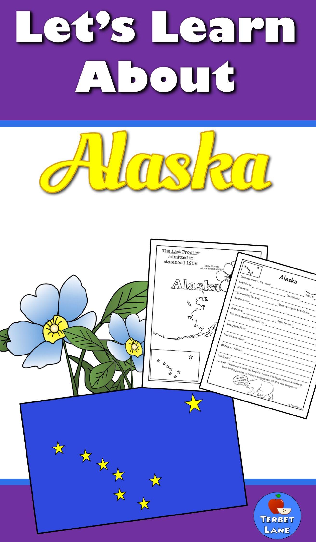 Alaska History And Symbols Unit Study Alaska Geography And Unit