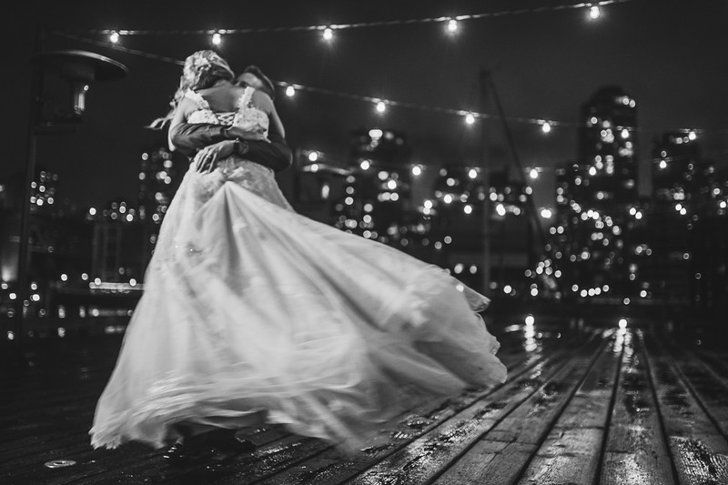 Pin for Later: If You Love Gloomy Weather, You'll Adore This Gorgeous Rainy Wedding Vendors