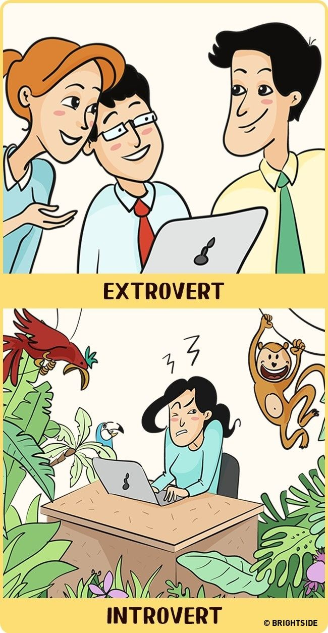 Introverts see world much better than extroverts