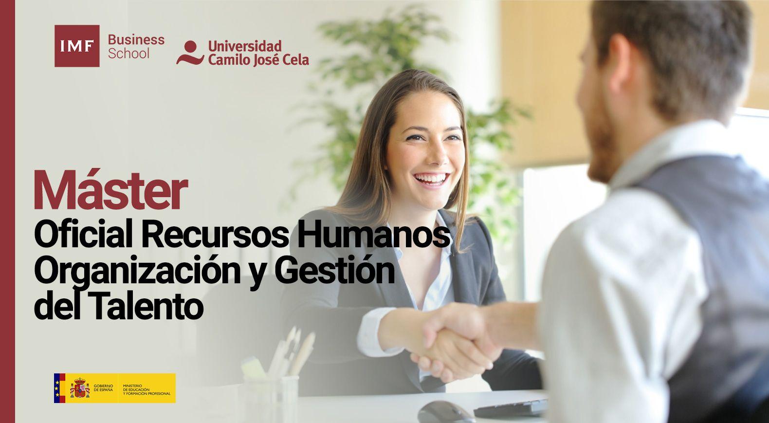 Máster Oficial En Recursos Humanos Organización Y Gestión Del Talento Gestion De Recursos Humanos Gestión De Recursos Ministerio De Educacion