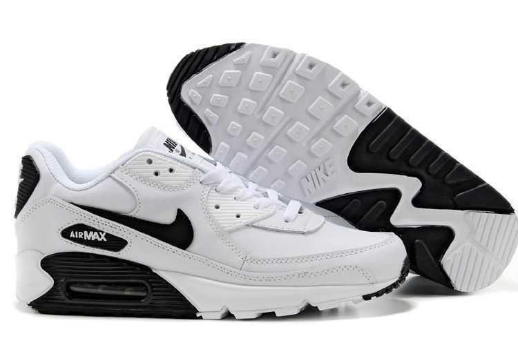 new style e3042 b0f27 1767   Nike Air Max 90 Herr Svart Vit SE183642kCuVhU