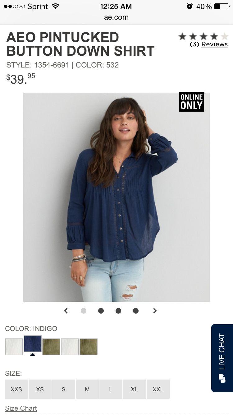 American Eagle Clothes Shirt Style Fashion