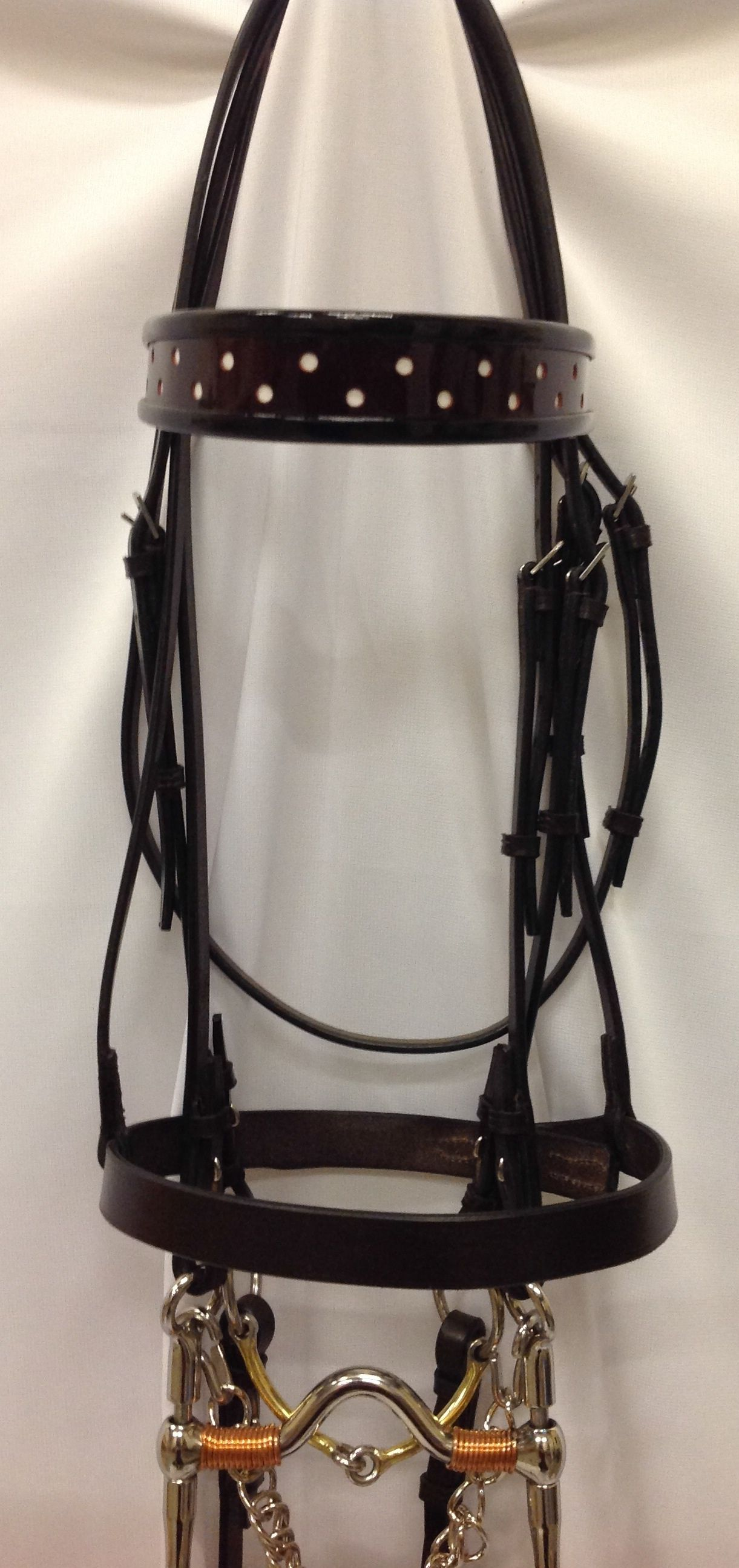 how to put together a double bridle