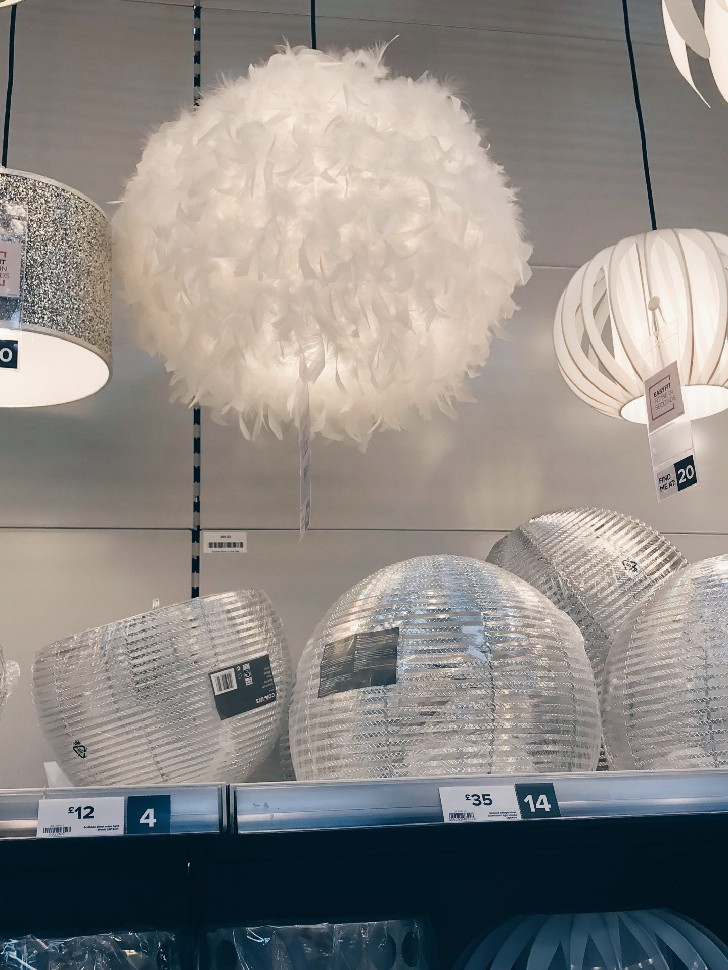 B Q Feather Lamp Shade In 2019 Diy Nursery