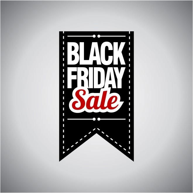 Free Vector Black Friday Sale Black Tag Template HttpWwwCgvector