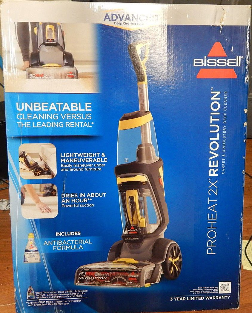 Carpet Shampooers 177746 Bissell Proheat 2x Revolution With