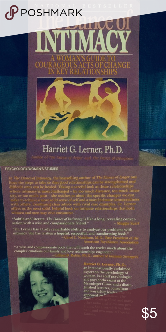The Dance Of Intimacy By Harriet G Lerner Phd Another Classic With