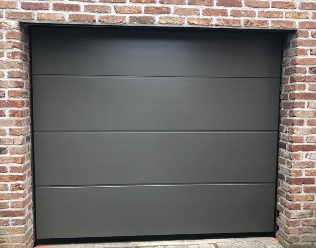 Porte De Garage Alutech Door Ral7039 Serie Trend Ramen En Deuren Deuren Ramen