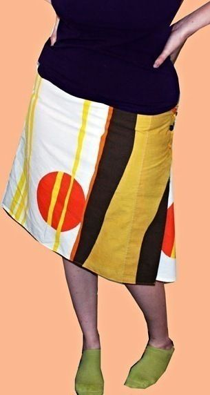 Wraparound Skirt  •  Free tutorial with pictures on how to make a wrap skirt in under 120 minutes
