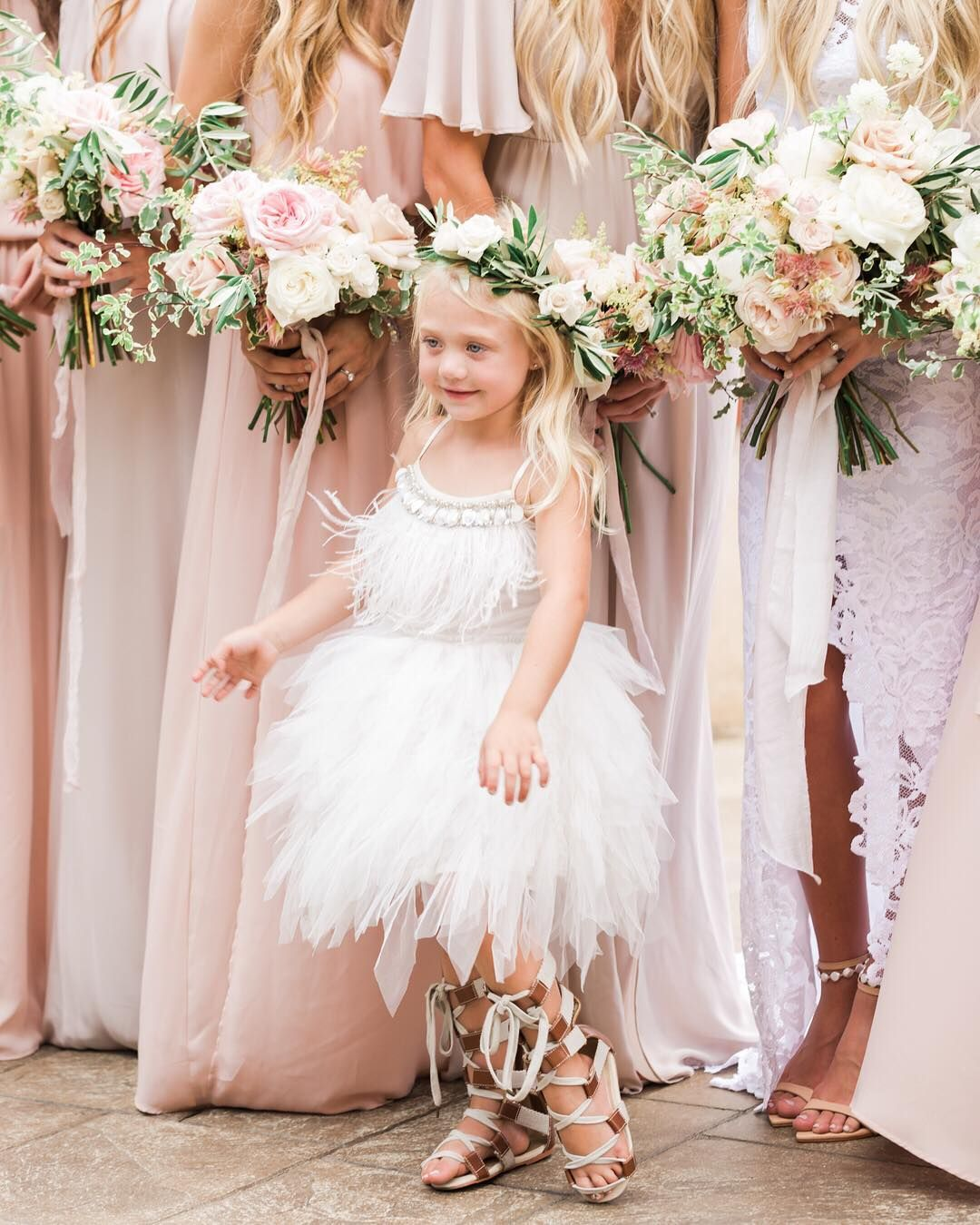 The cutest little flower girl we ever did see everleighrose the cutest little flower girl we ever did see everleighrose mumuweddings ombrellifo Image collections