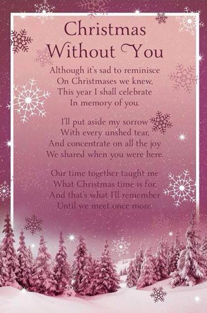 Christmas without you | Grief. It changes you. | Quotes ...
