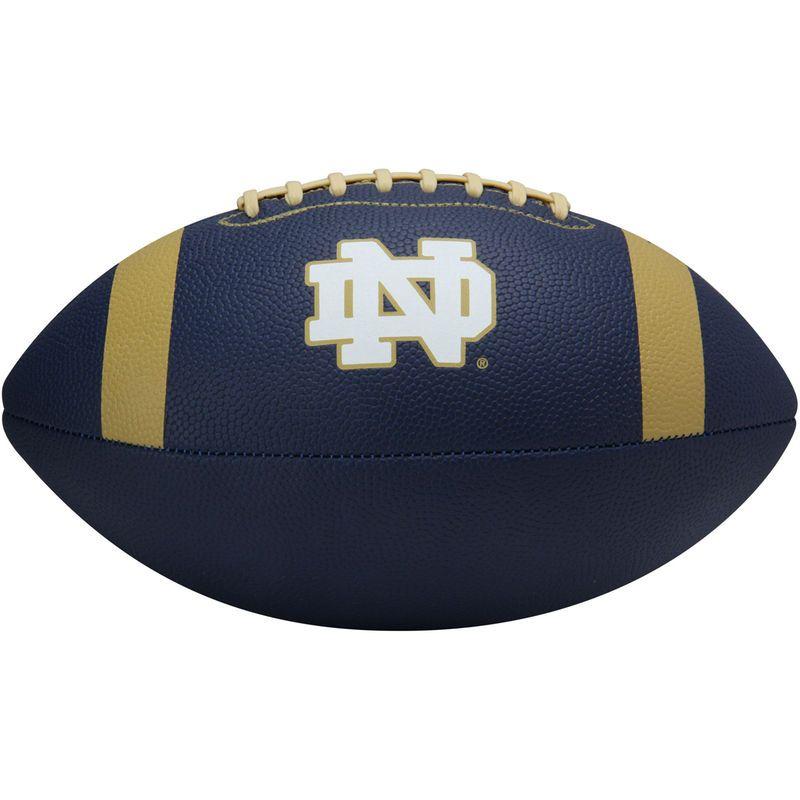 Notre Dame Fighting Irish Under Armour Junior Composite Spongetech Football – Navy Blue