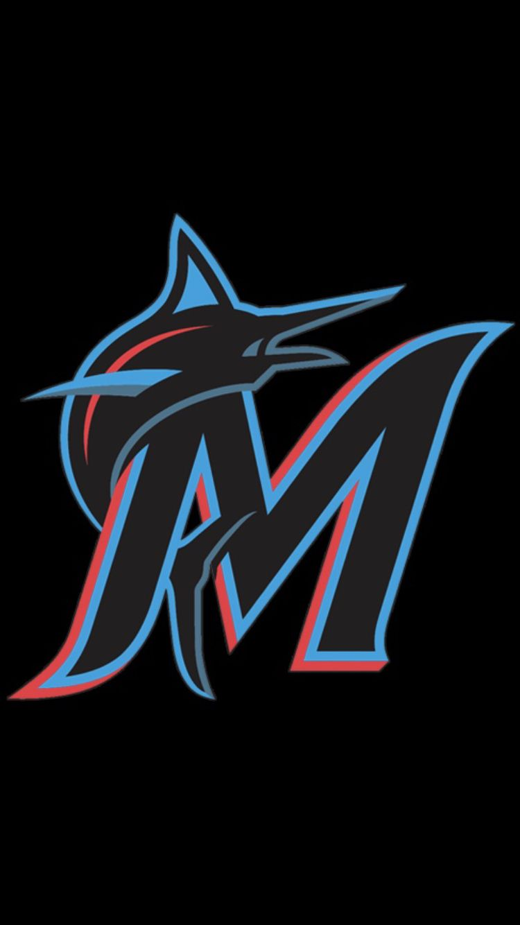 16 Miami Marlins 2019 Marlins Baseball Mlb Wallpaper Miami Dolphins Logo